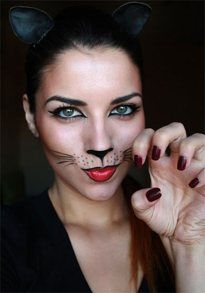 15-Simple-Easy-Halloween-Makeup-Ideas-For-Girls-Women-2017-8