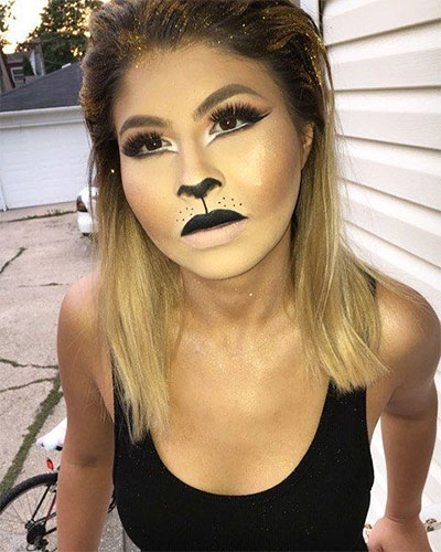 15-Simple-Easy-Halloween-Makeup-Ideas-For-Girls-Women-2017-9