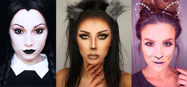 15+ Simple & Easy Halloween Makeup Ideas For Girls & Women 2017 ...