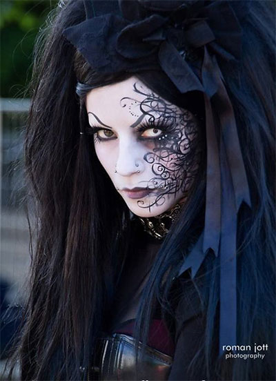 15-Witch-Halloween-Make-Up-Looks-For-Girls-Women-2017-10