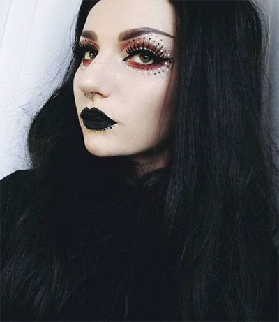 15-Witch-Halloween-Make-Up-Looks-For-Girls-Women-2017-11
