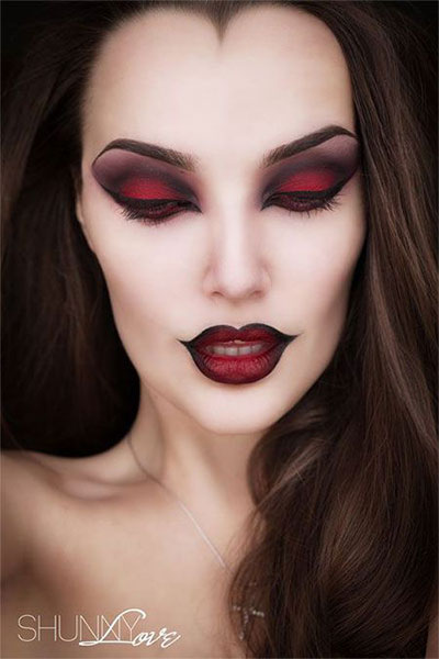 15-Witch-Halloween-Make-Up-Looks-For-Girls-Women-2017-2