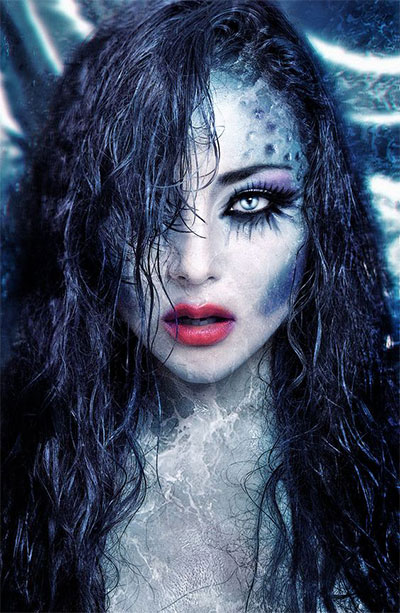 15-Witch-Halloween-Make-Up-Looks-For-Girls-Women-2017-4