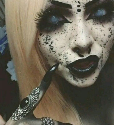 15-Witch-Halloween-Make-Up-Looks-For-Girls-Women-2017-8