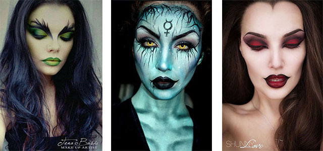 15-Witch-Halloween-Make-Up-Looks-For-Girls-Women-2017-F