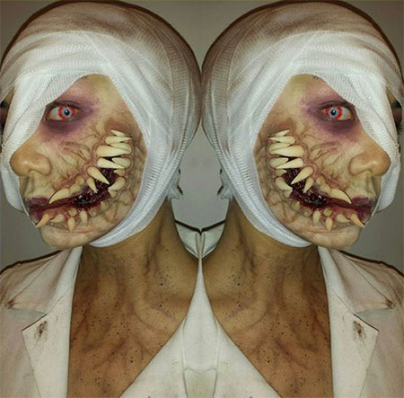 25-Scary-Halloween-Make-Up-Looks-For-Girls-Women-2017-25