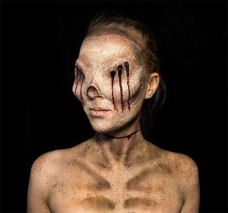 25-Scary-Halloween-Make-Up-Looks-For-Girls-Women-2017-3