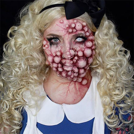 25-Scary-Halloween-Make-Up-Looks-For-Girls-Women-2017-4
