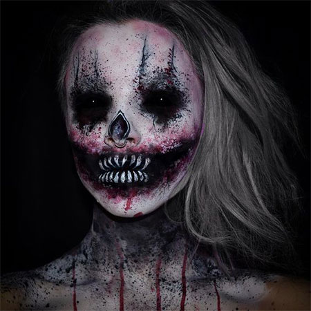 25+ Scary Halloween Make Up Looks For Girls & Women 2017 | Modern ...