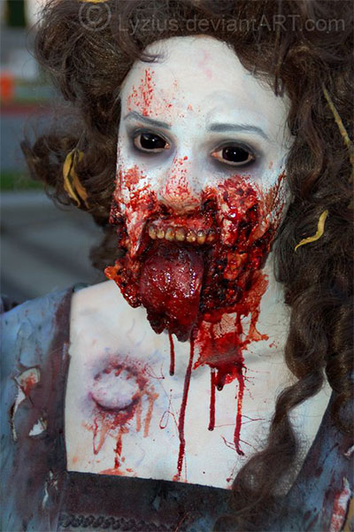 30-Scary-Halloween-Zombie-Face-Makeup-Looks-Ideas-2017-14