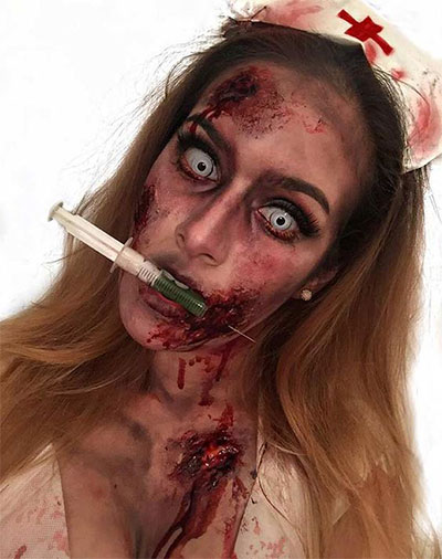30-Scary-Halloween-Zombie-Face-Makeup-Looks-Ideas-2017-16