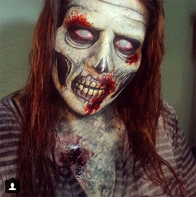 30-Scary-Halloween-Zombie-Face-Makeup-Looks-Ideas-2017-7