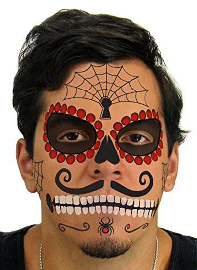 15 cheap fake scary temporary halloween tattoos 2017 for Cheap tattoo kits amazon
