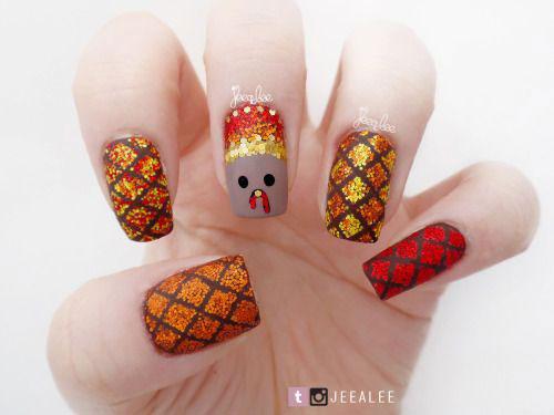 18-Best-Thanksgiving-Nails-Art-Designs-Ideas-2017-19