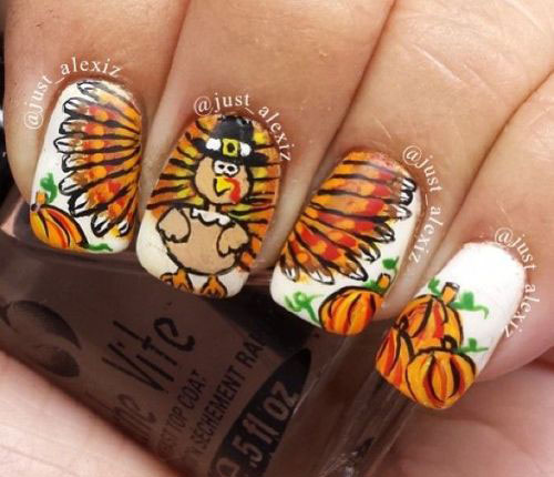 18-Best-Thanksgiving-Nails-Art-Designs-Ideas-2017-5