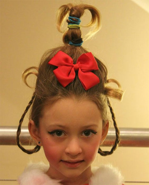 25 Crazy Funky Amp Scary Halloween Hairstyles For Kids