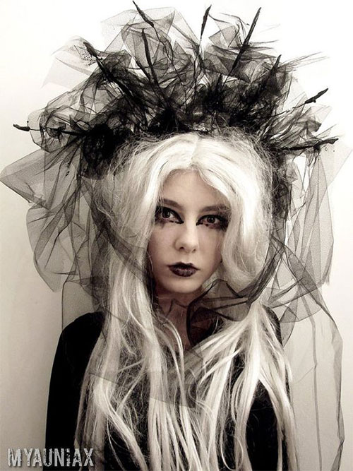 25-Crazy-Funky-Scary-Halloween-Hairstyles-For-Kids-Girls-2017-4