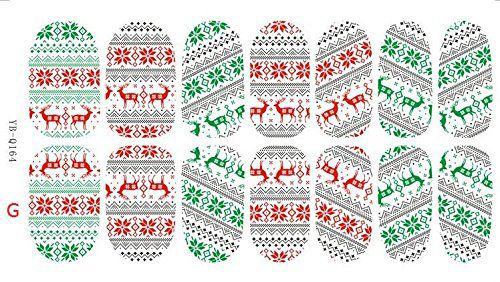 10-Amazing-Christmas-Nail-Art-Stickers-Decals-2017-11