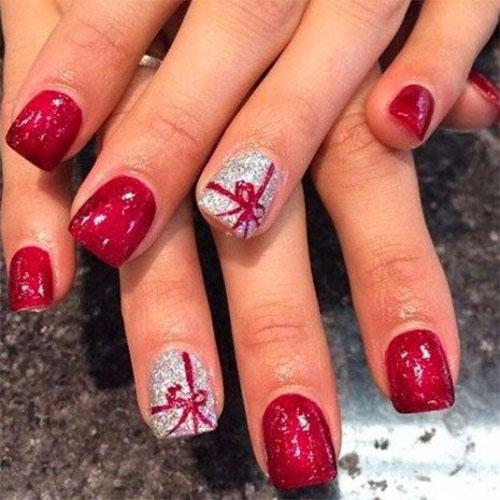 10-Christmas-Presents-Nail-Art-Designs-Ideas-2017-Xmas-Nails-3