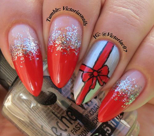 10-Christmas-Presents-Nail-Art-Designs-Ideas-2017-Xmas-Nails-7