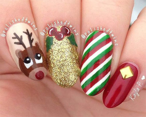 12-Christmas-Reindeer-Nail-Art-Designs-Ideas-2017-Xmas-Nails-10