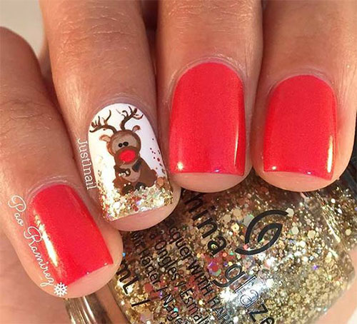 12-Christmas-Reindeer-Nail-Art-Designs-Ideas-2017-Xmas-Nails-8