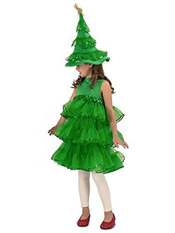 15-Cheap-Christmas-Tree-Costumes-Outfits-For-Kids-Adults-2017-6