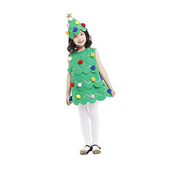 15-Cheap-Christmas-Tree-Costumes-Outfits-For-Kids-Adults-2017-7