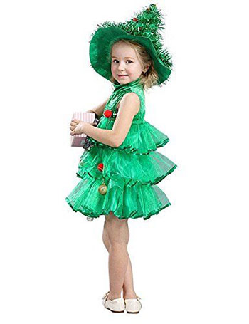 15-Cheap-Christmas-Tree-Costumes-Outfits-For-Kids-Adults-2017-9
