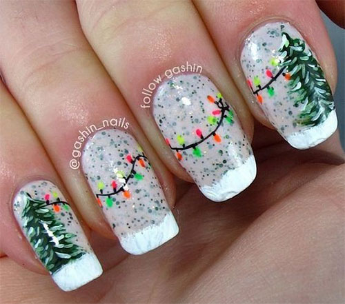 15-Christmas-Lights-Nail-Art-Designs-Ideas-2017-Xmas-Nails-13