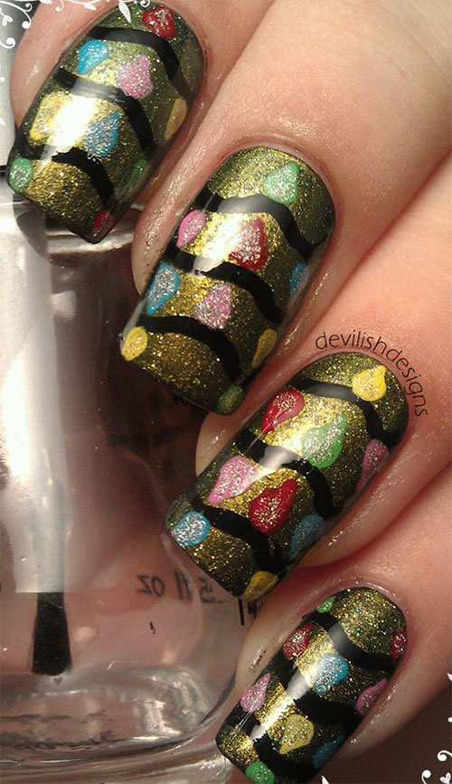 15-Christmas-Lights-Nail-Art-Designs-Ideas-2017-Xmas-Nails-4