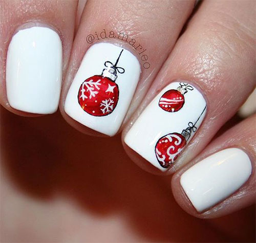 15 christmas ornament nail art designs ideas 2017 xmas nails 15 christmas ornament nail art designs ideas 2017 prinsesfo Image collections
