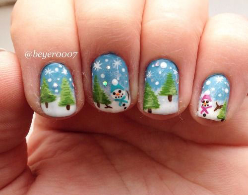 15-Christmas-Tree-Nail-Art-Designs-Ideas-2017-Xmas-Nails-15