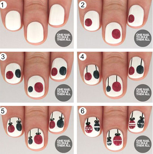 15-Easy-Simple-Christmas-Nails-Tutorials-For-Beginners-2017-1