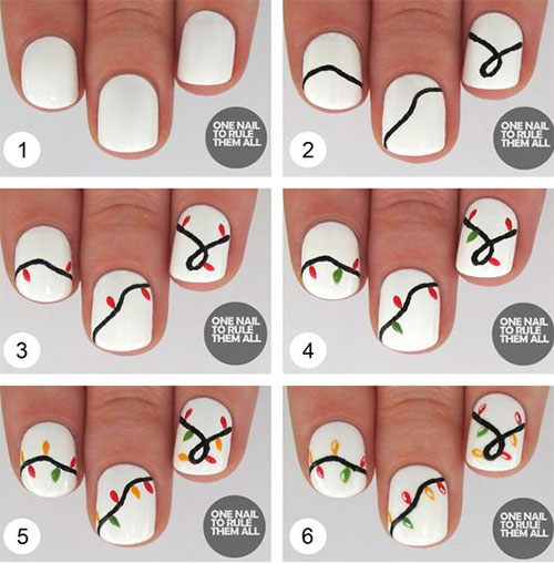 15-Easy-Simple-Christmas-Nails-Tutorials-For-Beginners-2017-2