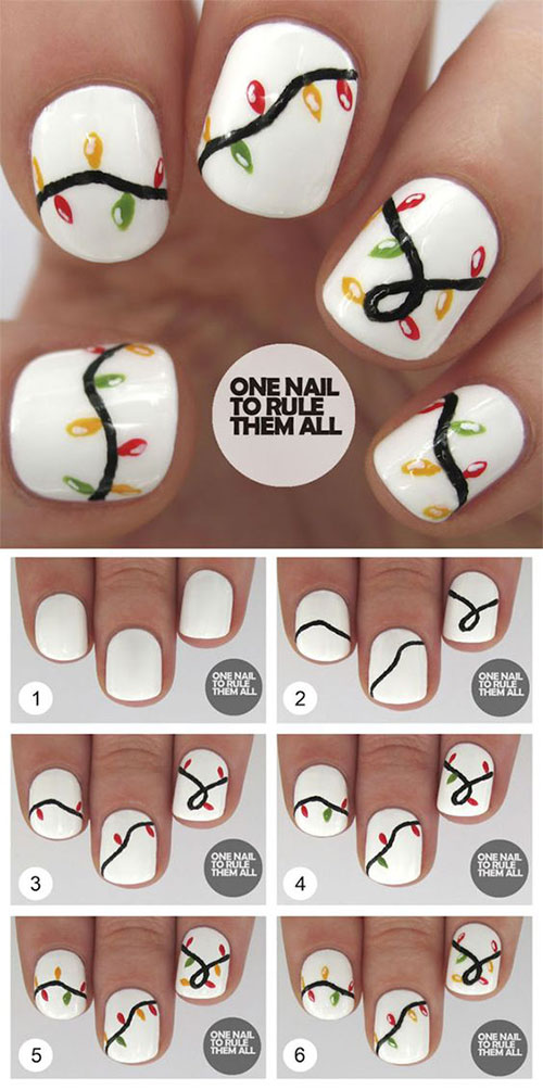 15-Easy-Simple-Christmas-Nails-Tutorials-For-Beginners-2017-7