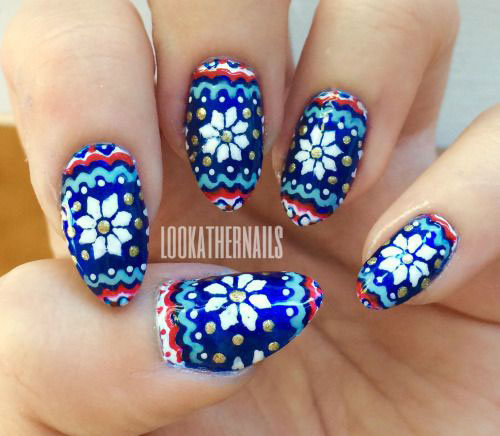 18-Ugly-Christmas-Sweater-Nail-Art-Designs-Ideas-2017-Xmas-Nails-12