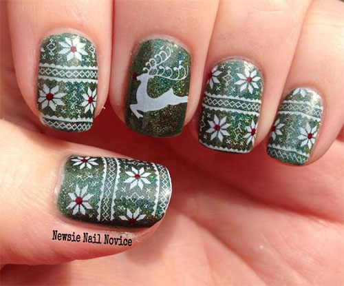 18-Ugly-Christmas-Sweater-Nail-Art-Designs-Ideas-2017-Xmas-Nails-13