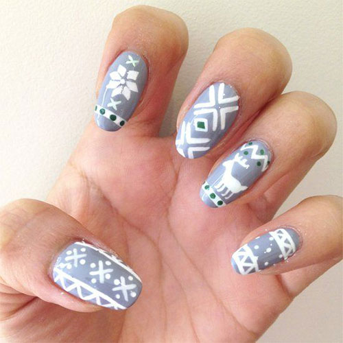 18-Ugly-Christmas-Sweater-Nail-Art-Designs-Ideas-2017-Xmas-Nails-8