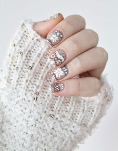 18-Ugly-Christmas-Sweater-Nail-Art-Designs-Ideas-2017-Xmas-Nails-9