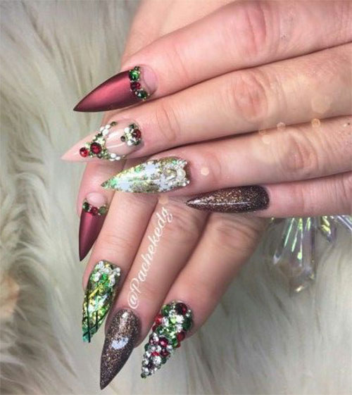 25-Best-Christmas-Nails-Art-Designs-Ideas-2017-1