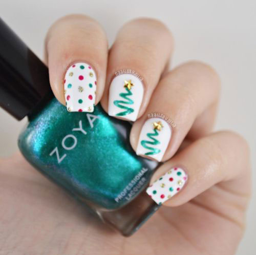 25-Best-Christmas-Nails-Art-Designs-Ideas-2017-15