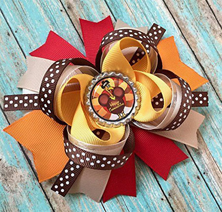 Happy-Thanksgiving-Hair-Accessories-For-Kids-Girls-2017-8