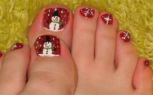 Merry-Christmas-Toe-Nail-Art-Designs-Ideas-2017-Xmas-Nails-7