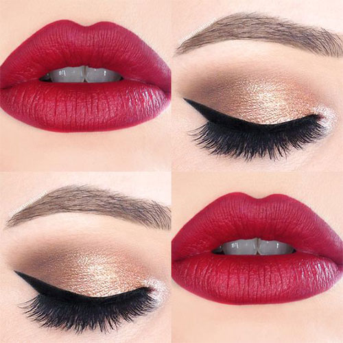 15-Christmas-Face-Eye-Party-Makeup-Ideas-For-Girls-Women-2017-12