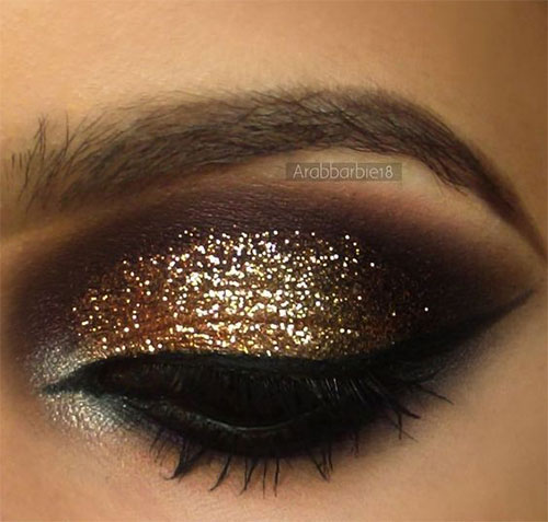 15-Christmas-Face-Eye-Party-Makeup-Ideas-For-Girls-Women-2017-15