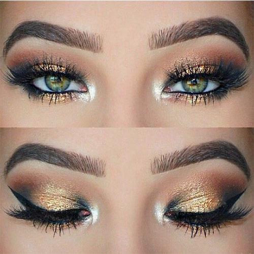 15-Christmas-Face-Eye-Party-Makeup-Ideas-For-Girls-Women-2017-7