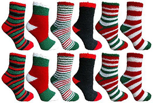 15-Christmas-Fuzzy-Socks-For-Kids-Girls-Women-2017-1