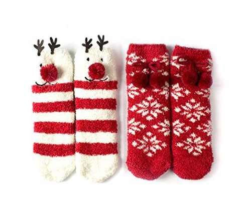 15-Christmas-Fuzzy-Socks-For-Kids-Girls-Women-2017-10
