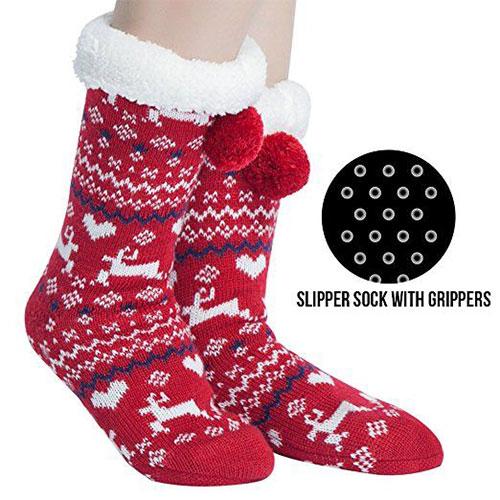 15-Christmas-Fuzzy-Socks-For-Kids-Girls-Women-2017-2